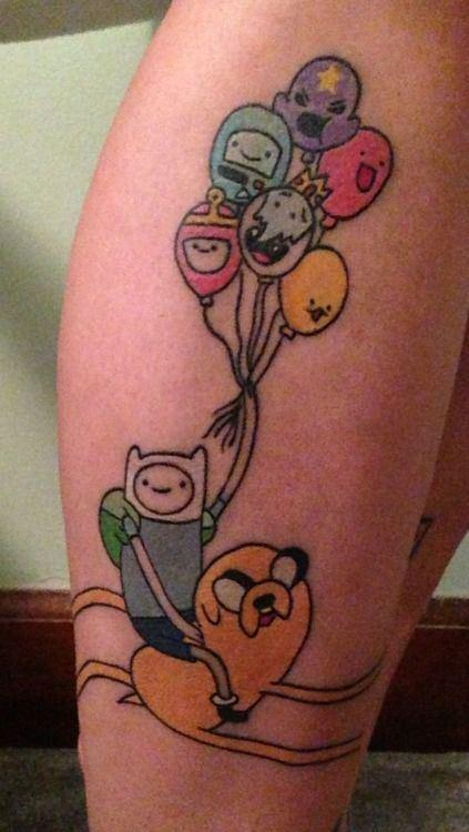 18 Awesome Adventure Time Tattoos