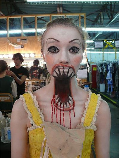 13 freaky make up effects to try this halloween