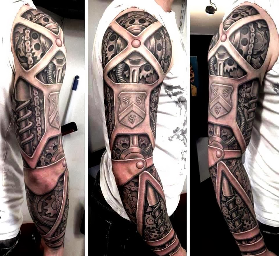 17 Best Images About Movie Tv Game Tattoos On Pinterest: 15 Of The Coolest Steampunk Tattoos We Need