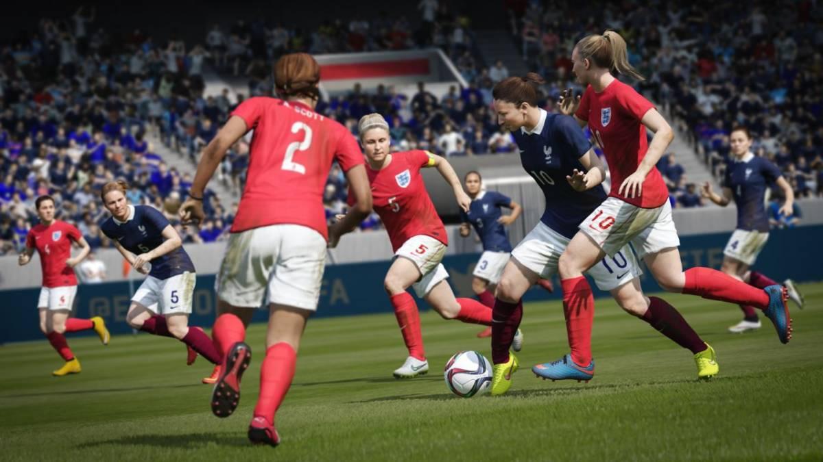 Women in FIFA 16
