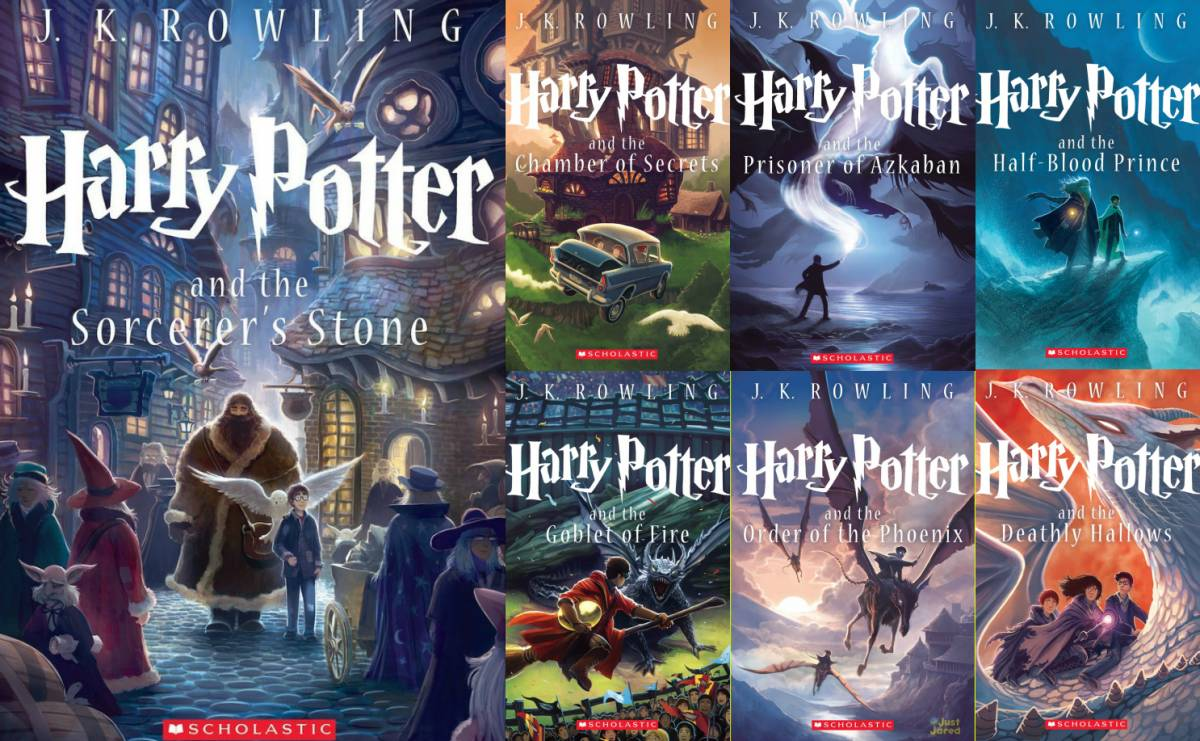 Book Cover Series List : Reasons why harry potter is the best story of a generation