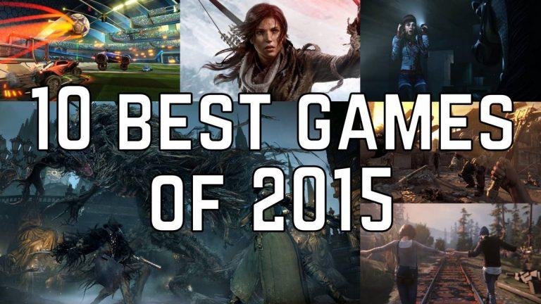 10 Best Games of 2015