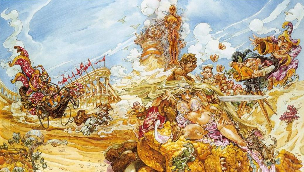 Moving Pictures Discworld