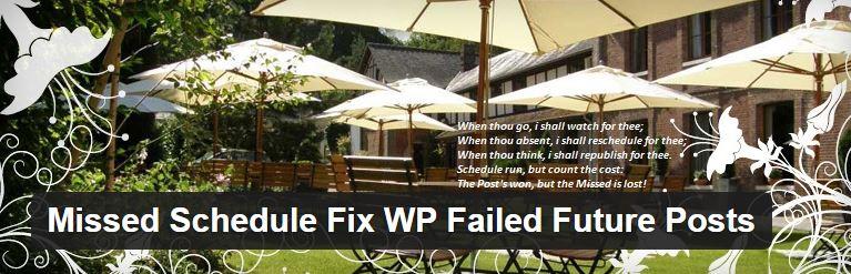 WP Missed Schedule