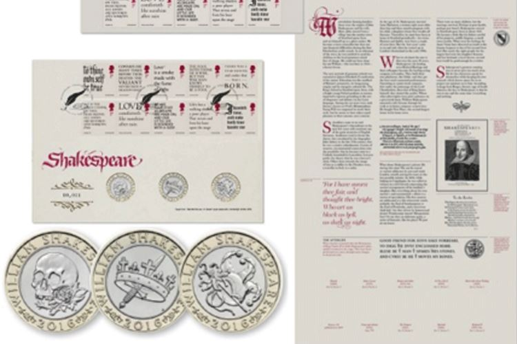 Shakespeare Stamps