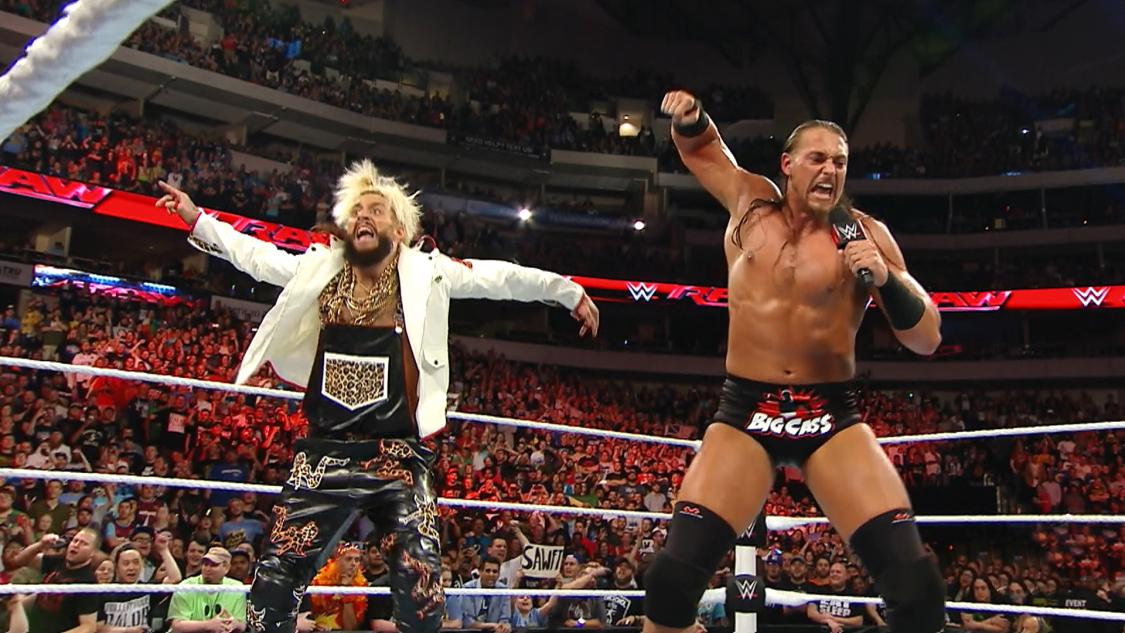 His name is Enzo Amore, and this here is Big Cass