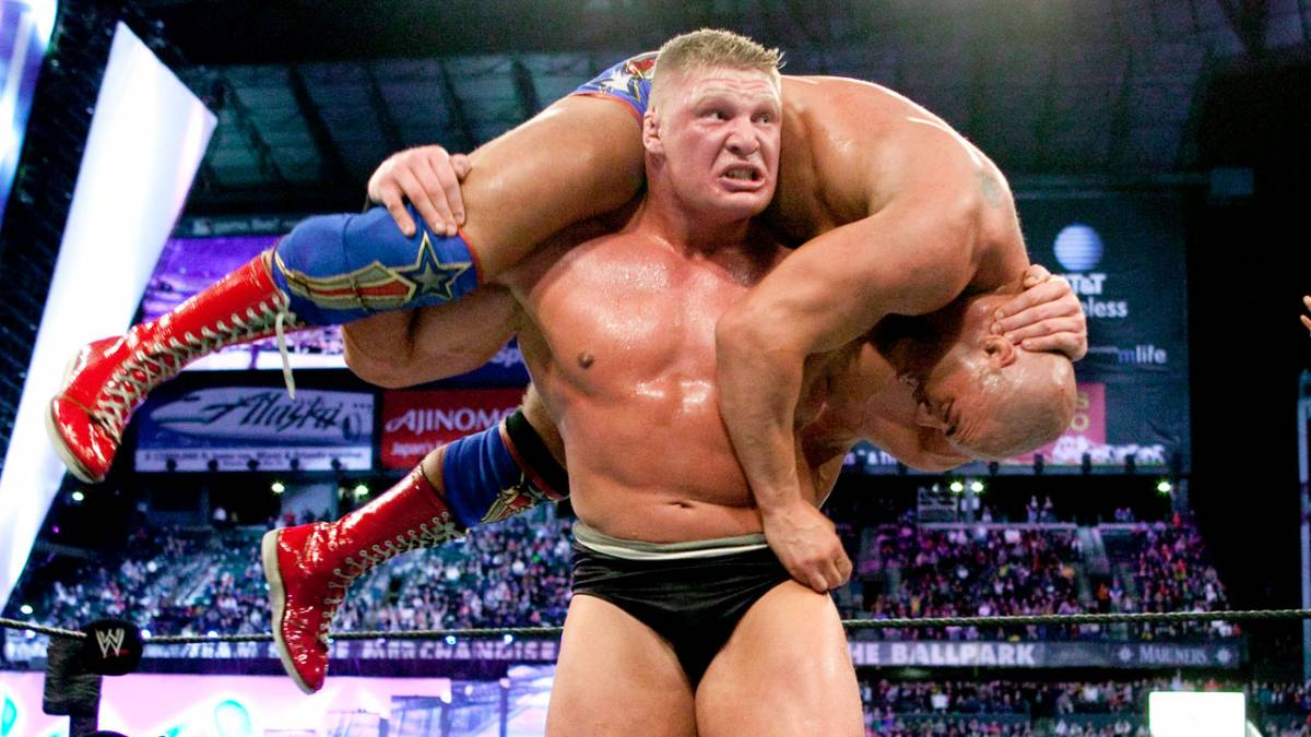 Best Smackdown Match Ever Angle Vs Lesnar 60 Minute Iron Man Match