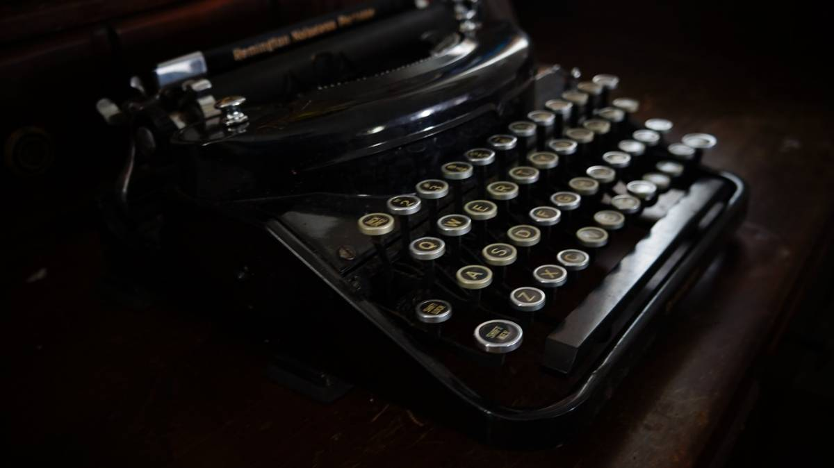 Typewriter for screenwriting