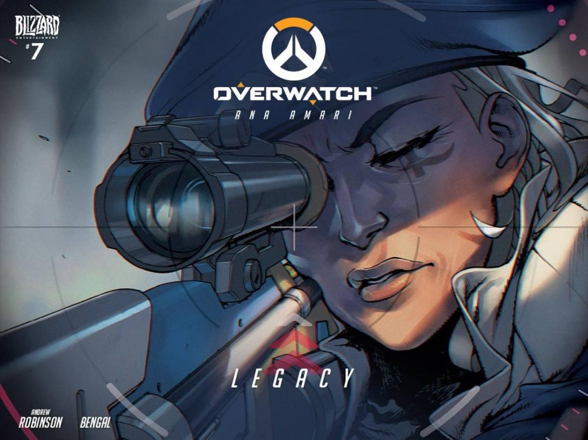 Ana Overwatch Legacy