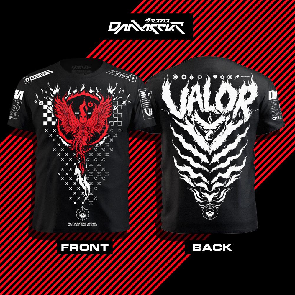 Pokemon Go Valour t-shirt