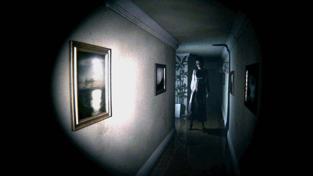P.T. Horror Game Background