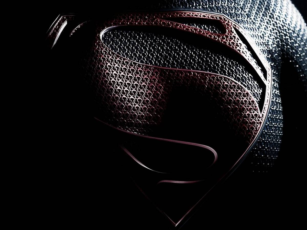 Man Of Steel Symbol Dark