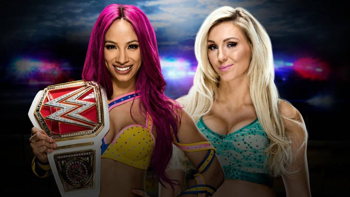 Sasha vs Charlotte