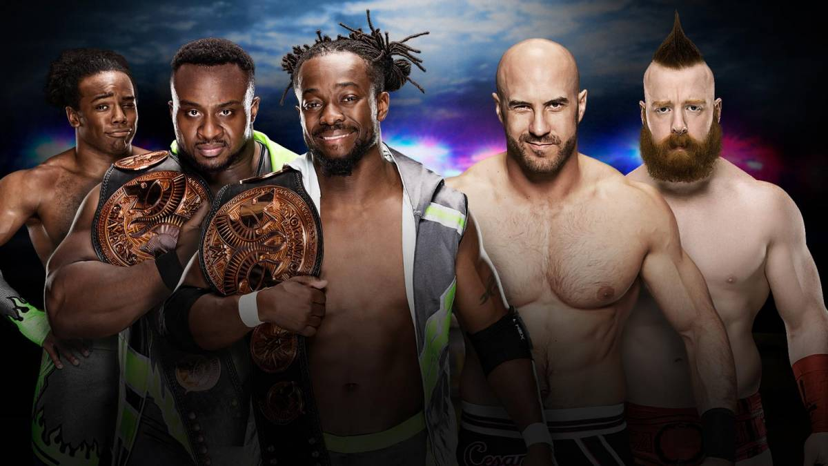New Day vs Cesaro and Sheamus