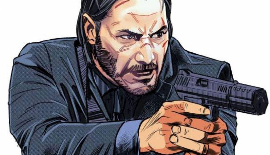 John Wick comic books