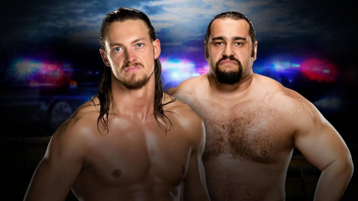 Rusev vs Big Cass