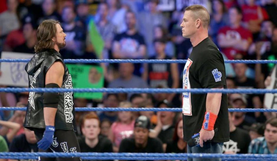 10 Best Wrestling Matches of 2016: #6 - AJ Styles Vs John Cena ...