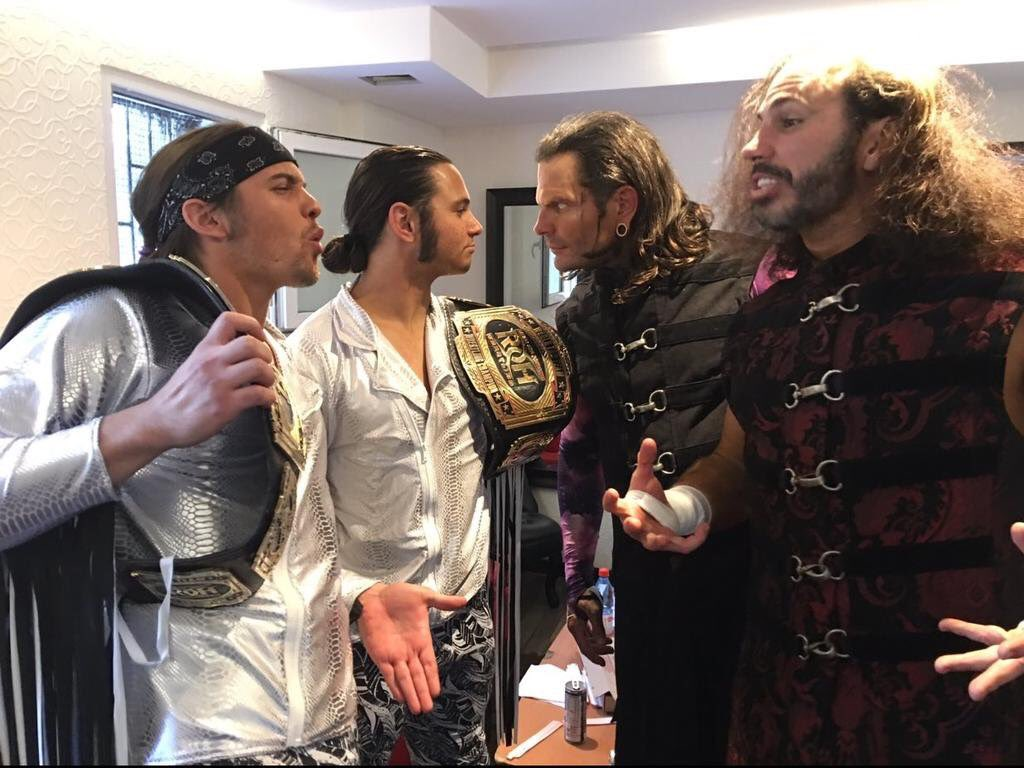 The Broken Hardys and the Young Bucks