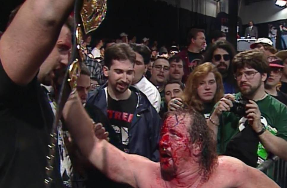 ECW Barely Legal 97 Terry Funk Tommy Dreamer