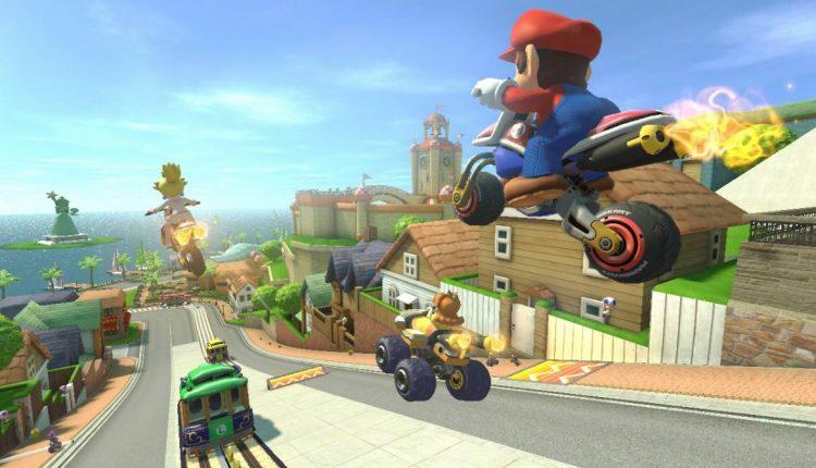 Mario Kart 8 Toad Harbor