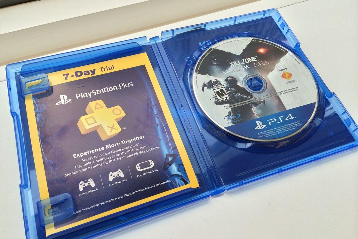 PS4 Game Case killzone