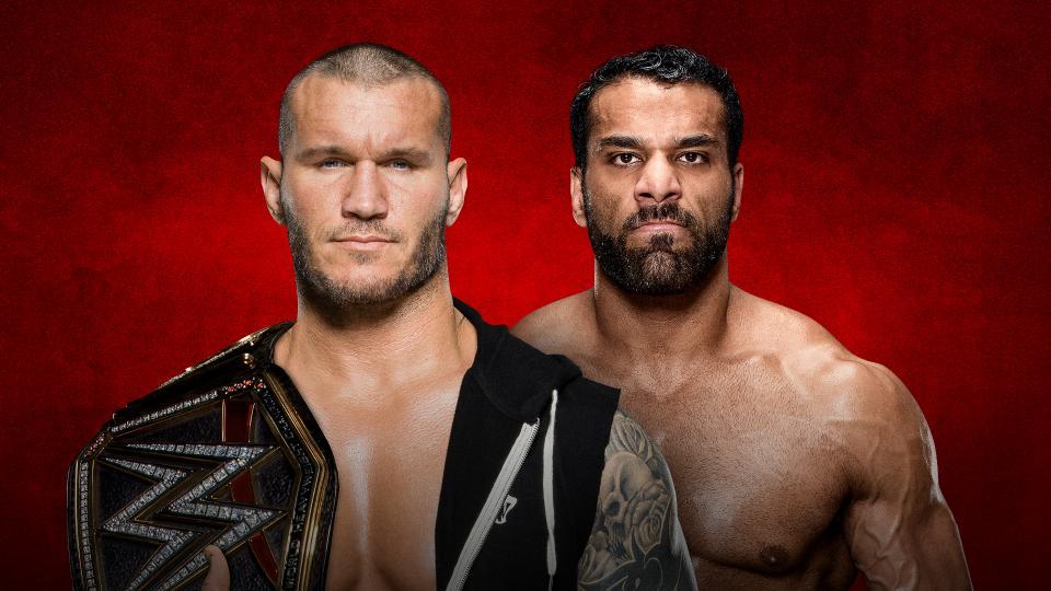 Randy Orton vs Jinder Mahal