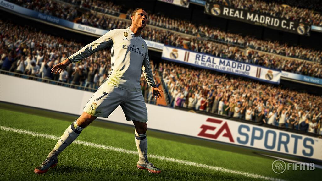 Ronaldo FIFA 18