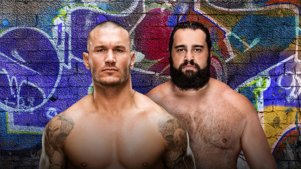 Randy orton vs Rusev