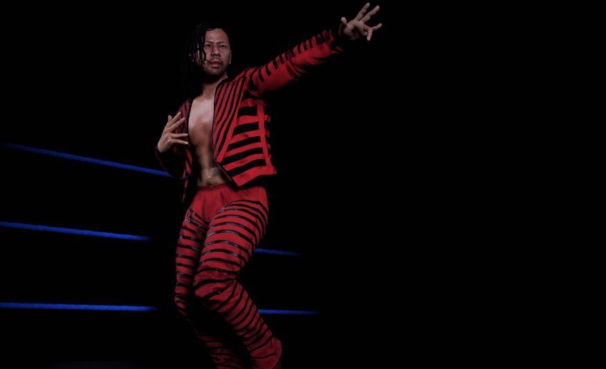 Shinsuke Nakamura WWE 2K18