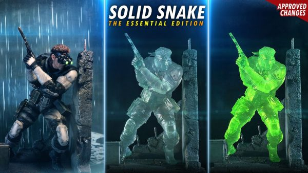 Solid Snake statue