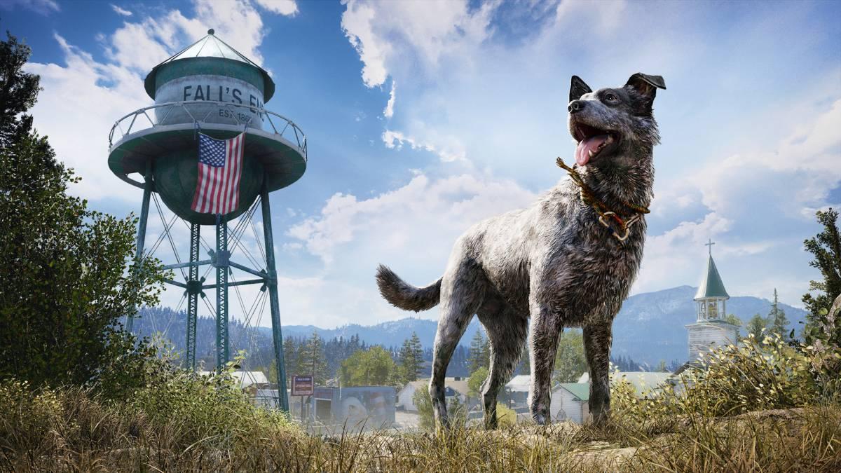 Far Cry 5 dog