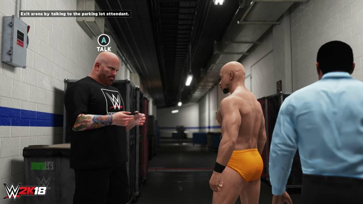 WWE 2k18 MyCareer