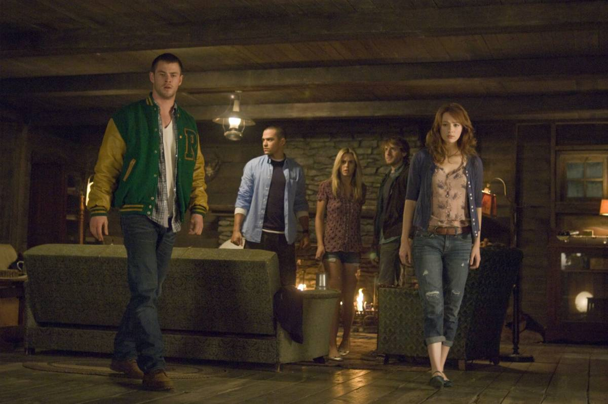 The Cabin in the woods best horror movies