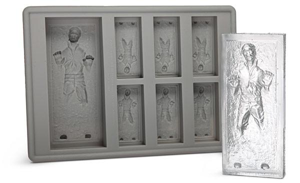 Star Wars gift idea: Han Solo ice cube tray