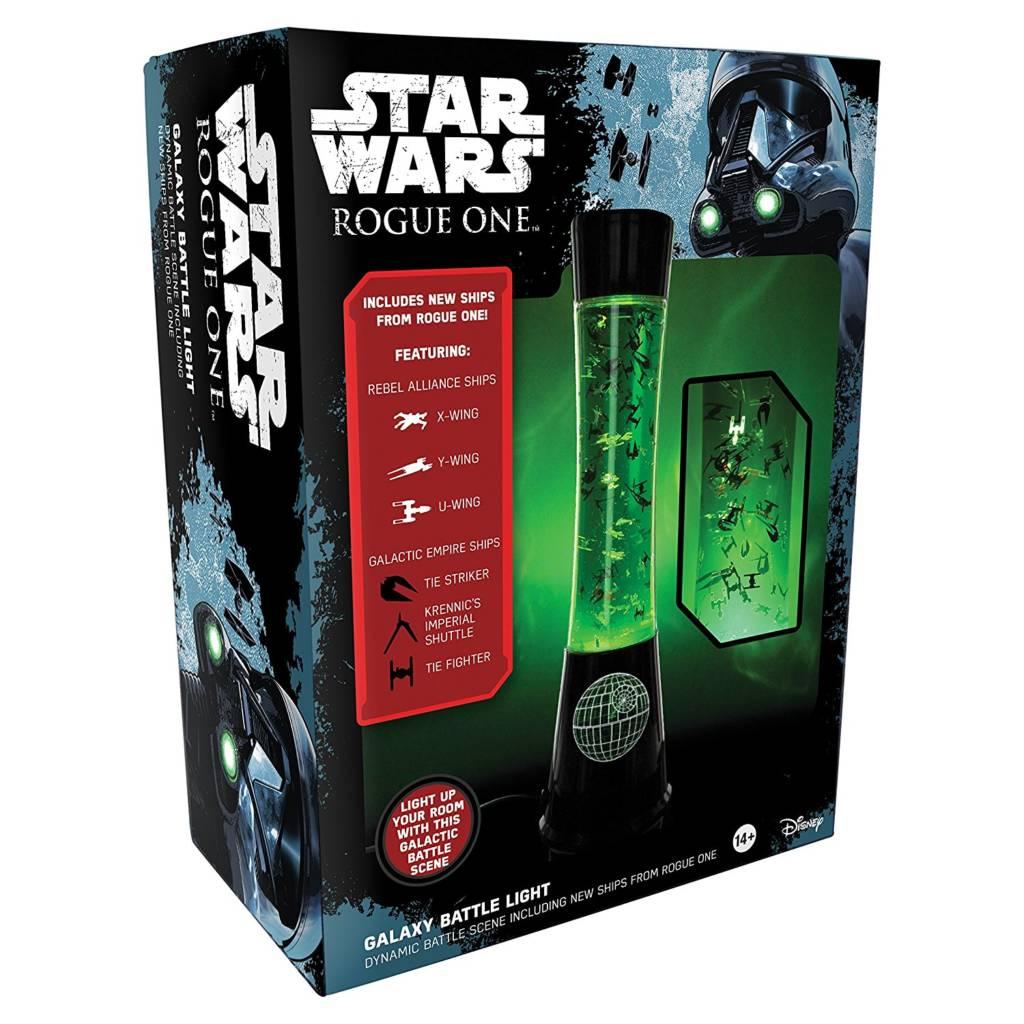 Star Wars gift idea: Rogue One lava lamp