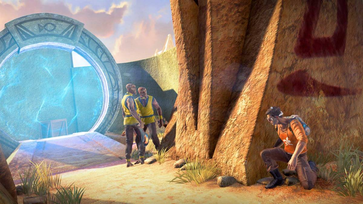 Outcast second contact 3