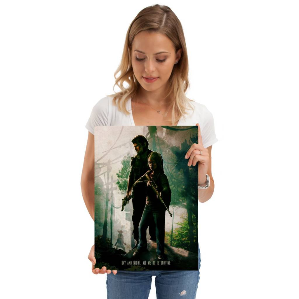 The Last of Us metal poster