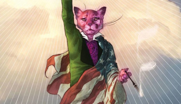 Exit Stage Left: The Snagglepuss Chronicles #1 cover issue image