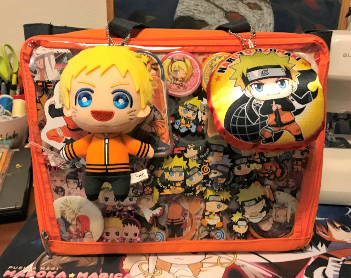 Orange Naruto ita bag