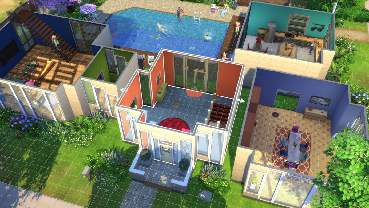 The Sims 4 ps4 2