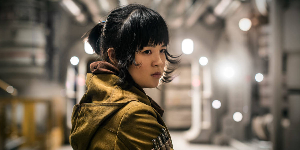Kelly Marie Tran as Rose Tico in The Last Jedi