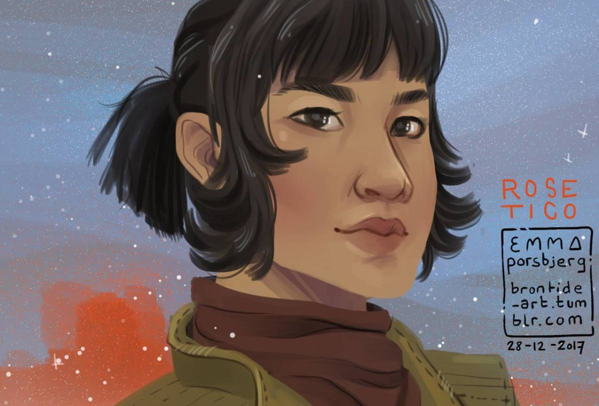 """Rose Tico fanart on """"5 things we love about Kelly Marie Tran"""""""