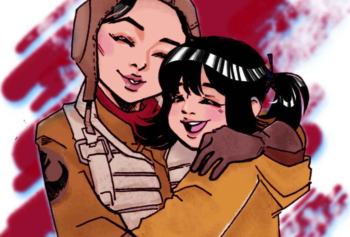 """Rose Tico and Paige fanart on """"5 Things We Love About Kelly Marie Tran"""""""