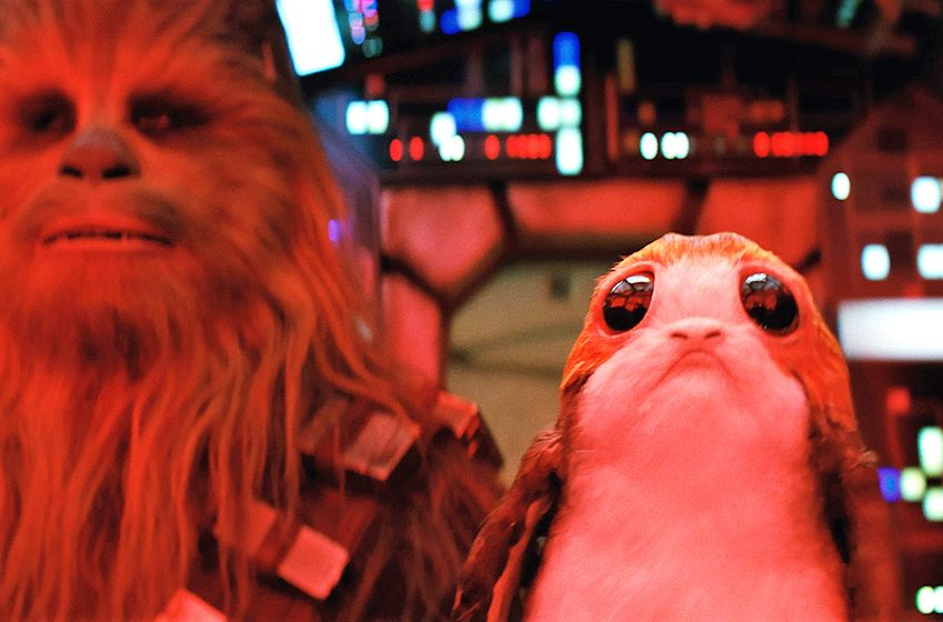 The Last Jedi Porg