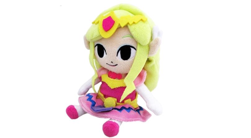 Zelda cuddly plush toy
