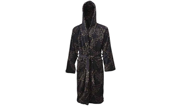 Black Zelda dressing gown/robe