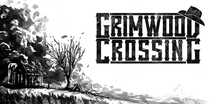 Grimwood Crossing black and white logo