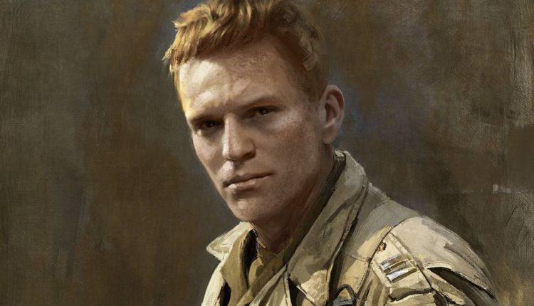 Cpt. Lamb: Burden of Command WW2 soldier artwork