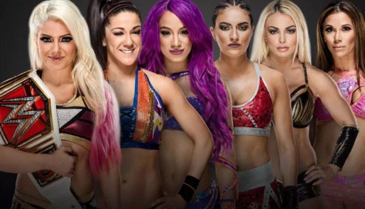 WWE Elimination Chamber Women's Match