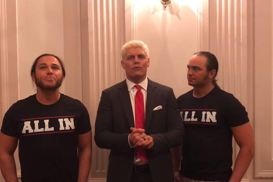 Коди и Янг Бакс отказались от перехода в WWE